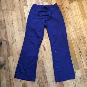 Purple Pant Scrubs